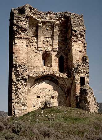 La Torre del Cuadrón en junio de 1994.