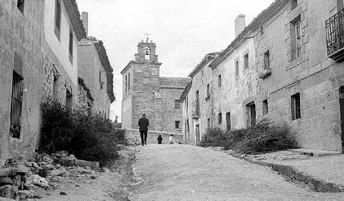 Resultado de imagen de foto en blanco y negro de pueblos antiguos