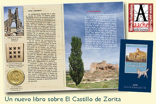 Un nuevo libro sobre el castillo de Zorita