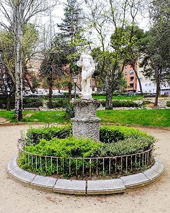 La estatua manierista de la Mariblanca, en el Paseo de La Concordia de Guadalajara.