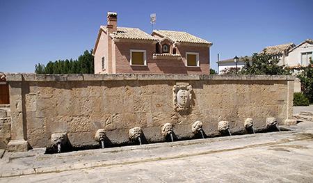 La fuente de los trece caños de Albalate