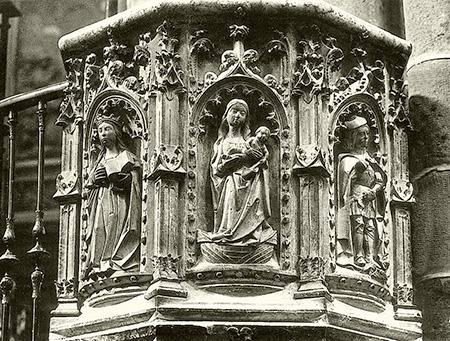 Pulpito de Mendoza en la catedral de Sigüenza