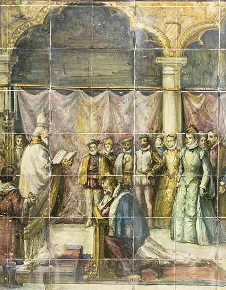 Boda de Felipe II e Isabel de Valois en Guadalajara