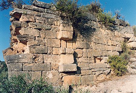 Puente romano de mural en carrascosa de tajo