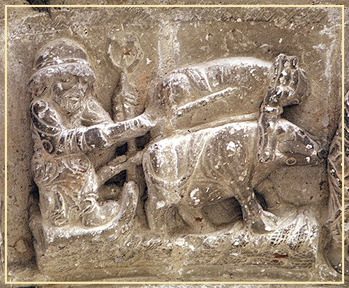 Mensario románico de Beleña de Sorbe, joya del románico de Guadalajara