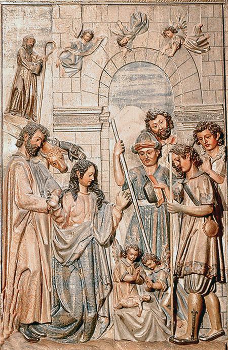 Natividad en Santa María la Fuente la Mayor