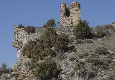 torre de los moros en Luzon Guadalajara