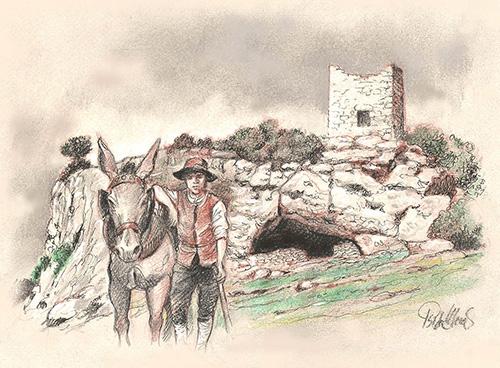 Cueva de los Casares en Riba de Saelices