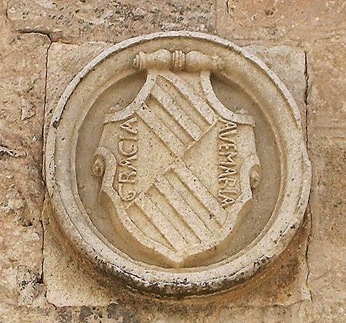 Escudo de Mendoza en la Casa Encomienda de Socuellamos