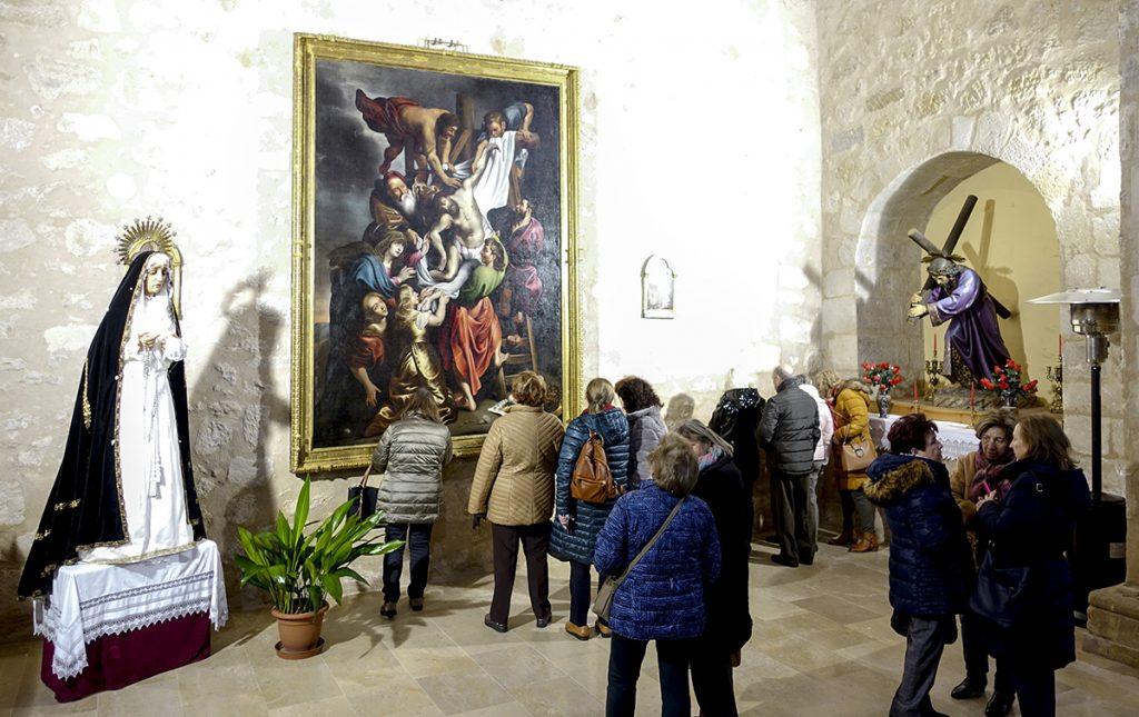 visita al cuadro de diriksen en la iglesia de millana