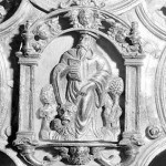Mondejar Cruz parroquial detalle